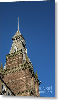 Newport Market Tower Metal Print by Steve Purnell