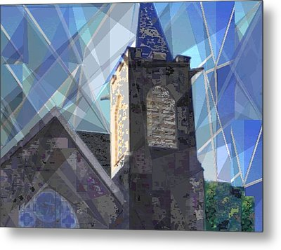 Newtown Steeple Metal Print