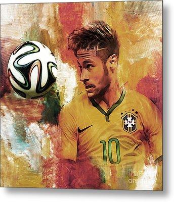 Neymar 05d Metal Print