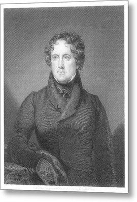Nicholas Biddle (1786-1844) Metal Print by Granger