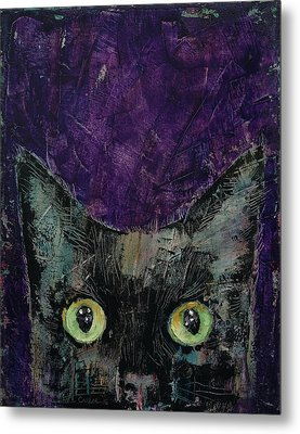 Night Prowler Metal Print by Michael Creese