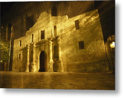 Night Time-exposed Zoom Gives Haunting Metal Print by Stephen St. John