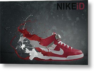 Nike Id Metal Print by Tom  Layland