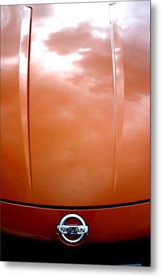 Nissan 11 Metal Print