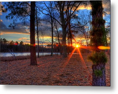Sunset In New Jersey Metal Print by Kevin Hill