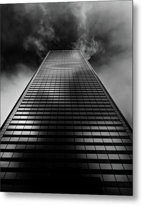 Metal Print featuring the photograph No 100 King St W Toronto Canada 1 by Brian Carson