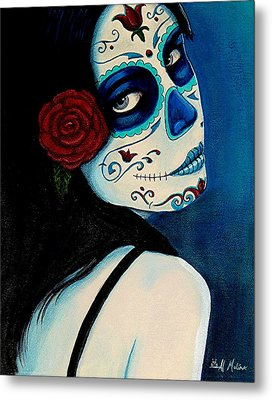 No Se Olvide De Mi Metal Print by Al  Molina