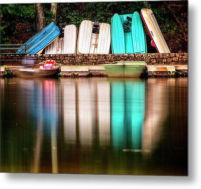 Metal Print featuring the photograph No Takers by Alan Raasch