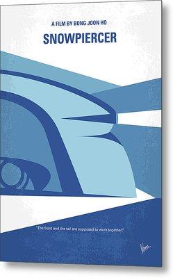 No767 My Snowpiercer Minimal Movie Poster Metal Print