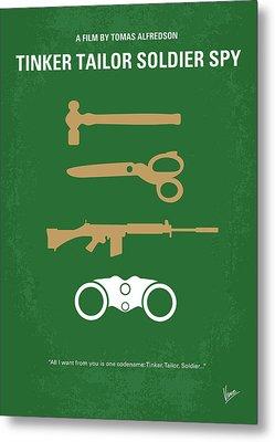 No787 My Tinker Tailor Soldier Spy Minimal Movie Poster Metal Print