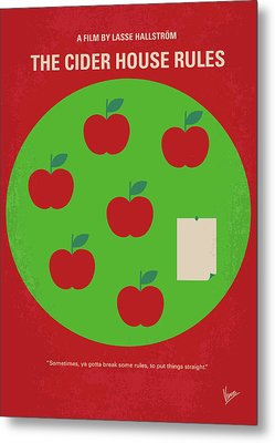 No807 My The Cider House Rules Minimal Movie Poster Metal Print