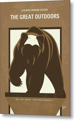 No824 My The Great Outdoors Minimal Movie Poster Metal Print