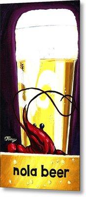 Nola Beer Metal Print by Terry J Marks Sr