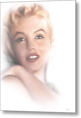 Norma Jeane Metal Print by Peter Chilelli