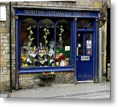 North Cotswold Bakery Metal Print