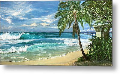 North Shore Metal Print by Lisa Reinhardt