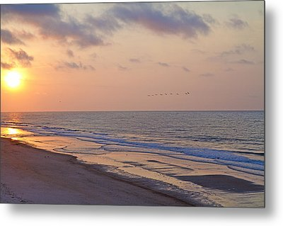North Topsail Beach Glory Metal Print by Betsy Knapp
