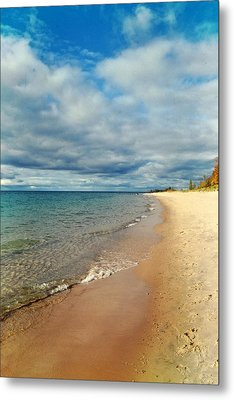 Metal Print featuring the photograph Northern Shore by Michelle Calkins