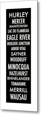 Northern Wisconsin Metal Print