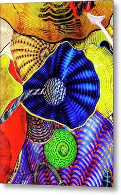 Northwest Glass 2 Metal Print by Greg Sigrist