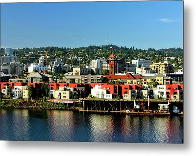 Northwest Portland Metal Print by Albert Seger