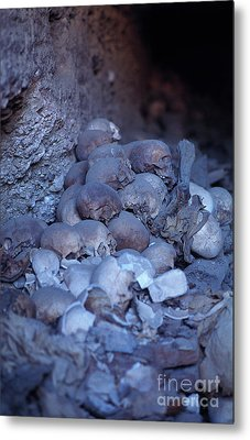 Metal Print featuring the photograph Not Anyone Maight Become A King - Mummy Mummies Of Ancient Egypt  by Urft Valley Art