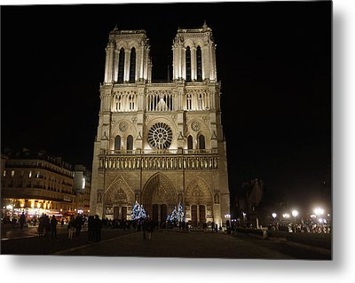 Notre Dame De Paris Metal Print by Erik Tanghe