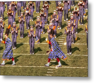 Notre Dame Marching Band Metal Print by David Bearden