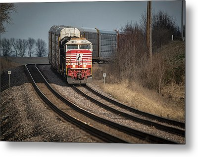 Ns 911 Heritage Unit At Princeton In Metal Print by Jim Pearson