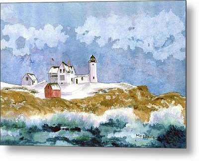 Nubble In Winter Metal Print