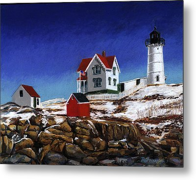 Nubble Light Metal Print by Paul Gardner
