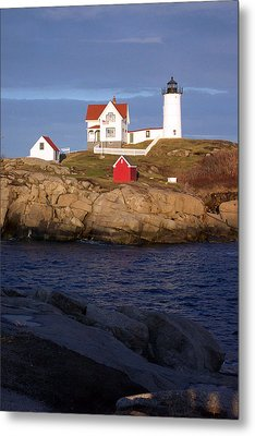 Nubble Lighthouse  Maine Metal Print