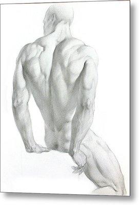 Nude 3 Metal Print by Valeriy Mavlo