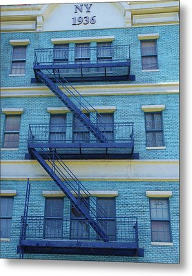 Metal Print featuring the photograph Ny 1936 by Marie Leslie