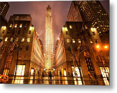 Nyc054 Metal Print by Svetlana Sewell
