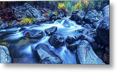 Metal Print featuring the photograph Oak Creek Flow by ABeautifulSky Photography