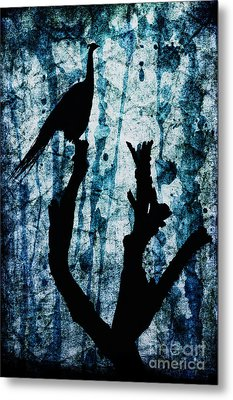 Obsidian Realm Metal Print by Andrew Paranavitana