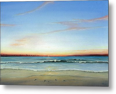 Obx Sunrise Metal Print