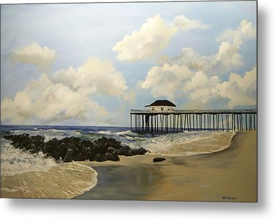 Ocean Grove Fishing Pier Metal Print