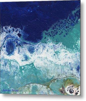 Metal Print featuring the painting Ocean by Jamie Frier