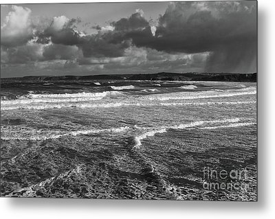 Metal Print featuring the photograph Ocean Storms by Nicholas Burningham