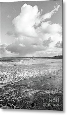 Metal Print featuring the photograph Ocean Texture Study by Nicholas Burningham