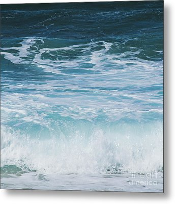 Metal Print featuring the photograph Ocean Waves From The Depths Of The Stars by Sharon Mau
