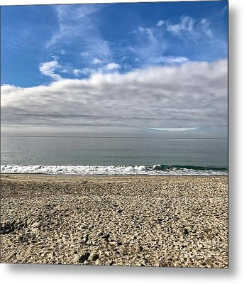 Metal Print featuring the photograph Ocean's Edge by Kim Nelson