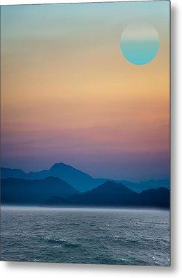 Ocianic Sunset Metal Print