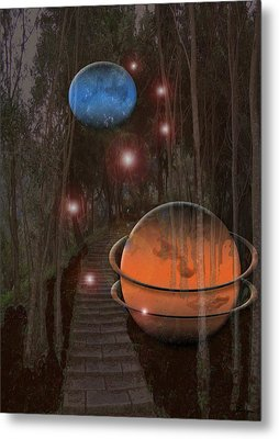Off The Beaton Path Metal Print by Andrea Lawrence