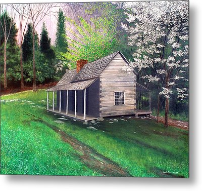 Ogle Homestead Gatlinburg Tn Metal Print