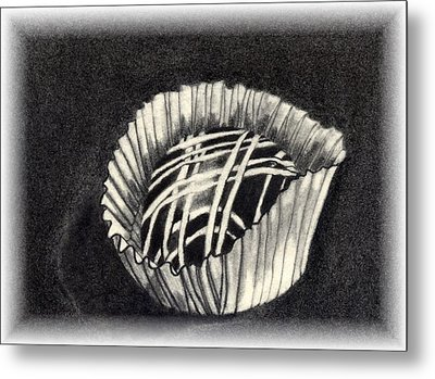 Oh Chocolate Metal Print by Penny Everhart