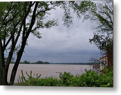 Ohio River Metal Print by Sandy Keeton