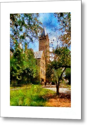 Ohio Wesleyan Chapel Metal Print